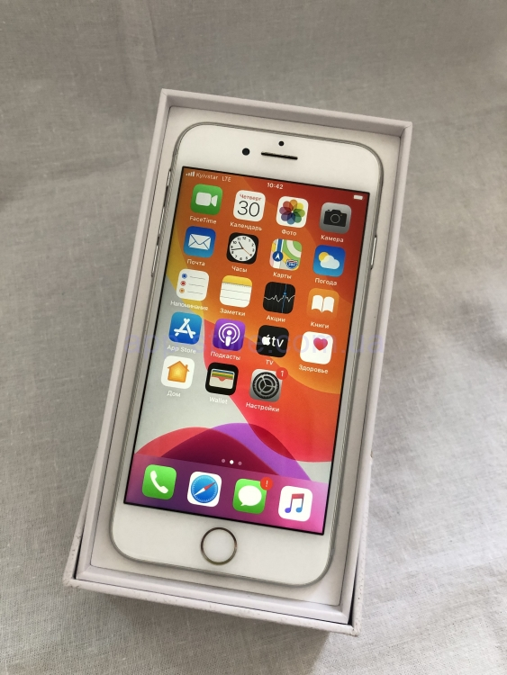 iphone 8 64 Gb Silver Б/у